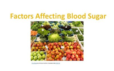 Factors Affecting Blood Sugar Levels