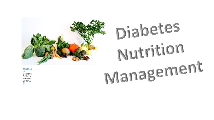 Diabetes Nutrition Management