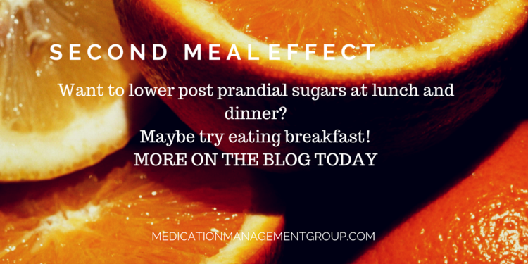 Second Meal Effect – Type 2 Diabetes