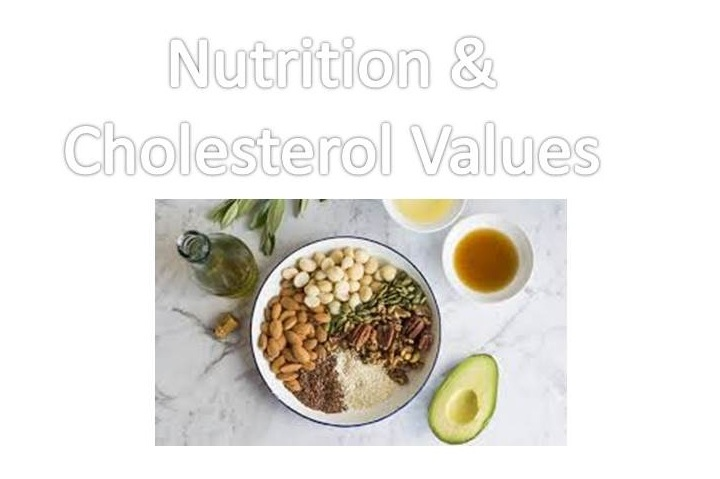 Nutrition and Cholesterol Values